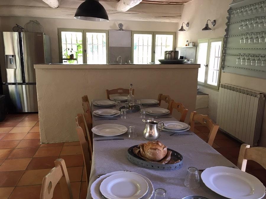 Table de cuisine pour se réunir
