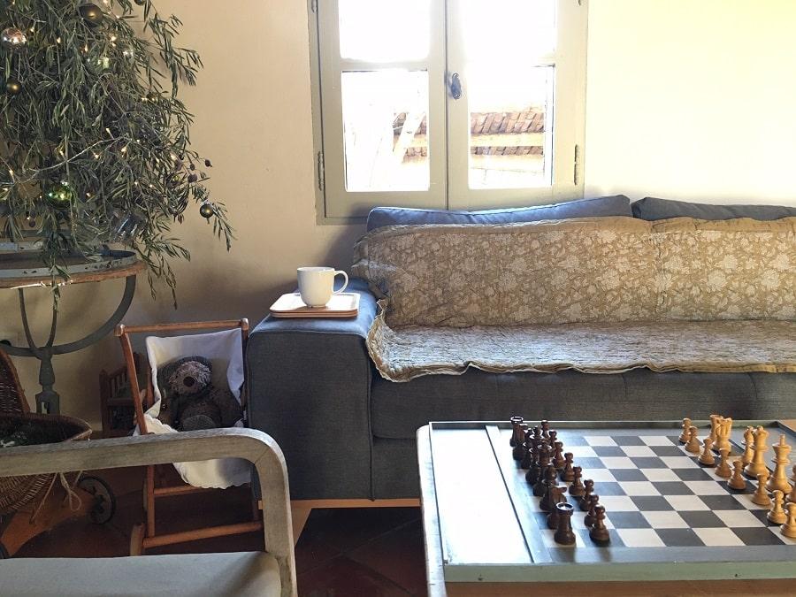 Canapé du Mas à louer en Luberon