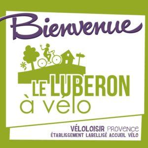 Logo Luberon à vélo